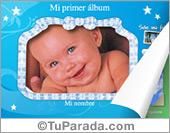 Tarjetas, postales: Álbum de mi bebé