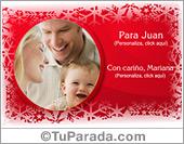 Tarjetas, postales: Foto tarjeta navideña