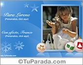 Tarjetas, postales: Foto tarjeta de felicidades