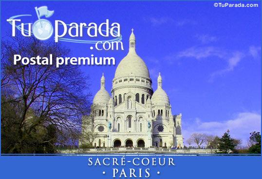 Tarjeta - Sacré-Coeur