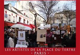 Les artistes de la Place du Tertre