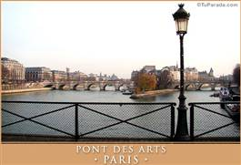 Pont des Arts - PARIS