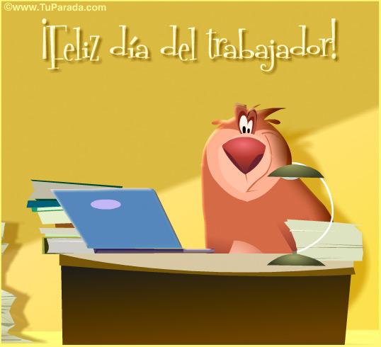 Tarjeta - ¡Feliz Día del trabajador!