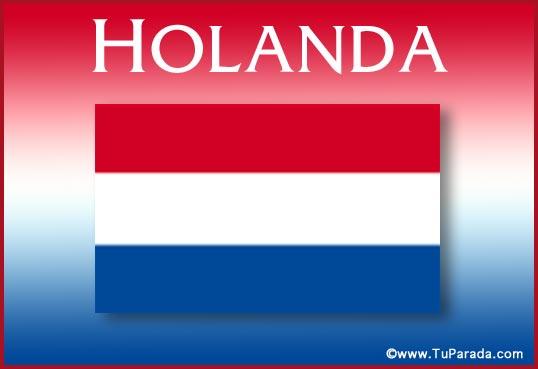 Tarjeta - Holanda