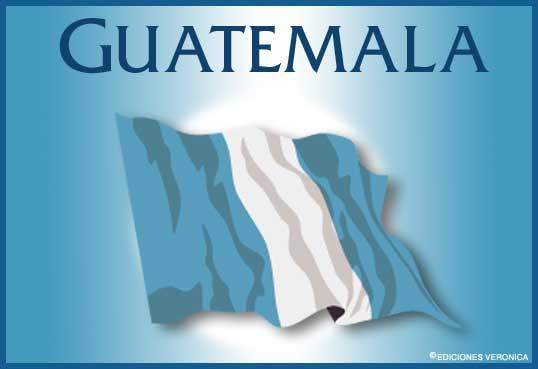 Tarjeta - Bandera de Guatemala