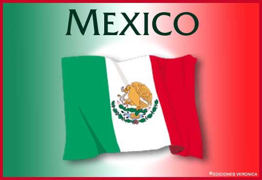 Tarjeta - Bandera de México