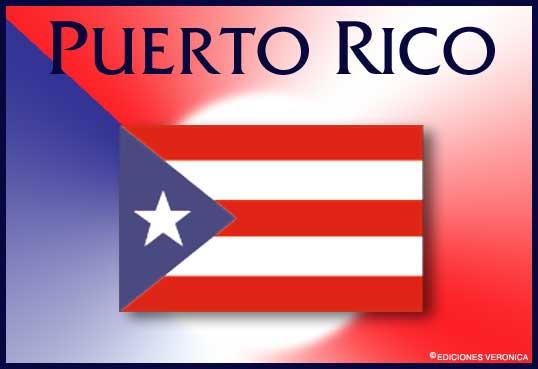 Tarjeta - Bandera de Puerto Rico