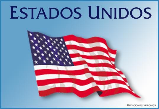 Tarjeta - Bandera de Estados Unidos