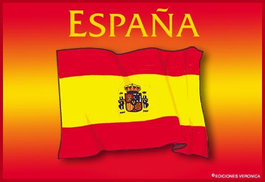 Tarjeta - Bandera de España