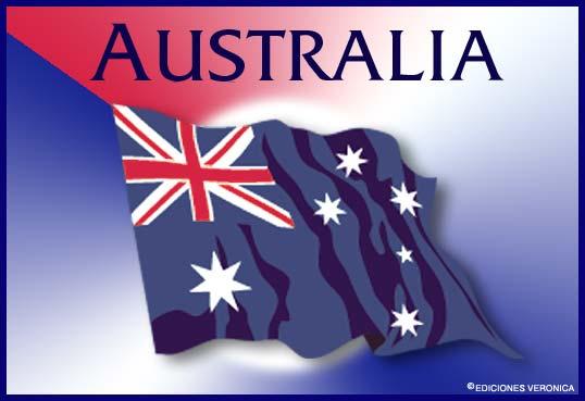Tarjeta - Bandera de Australia