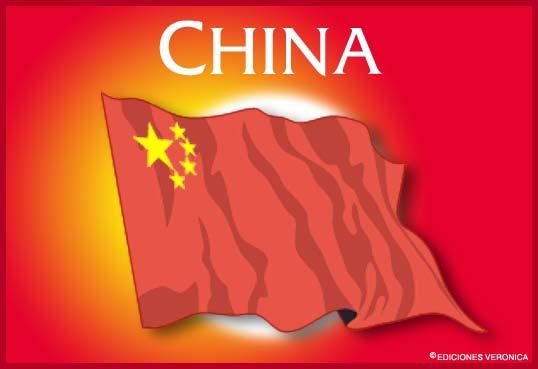 Tarjeta - Bandera de China
