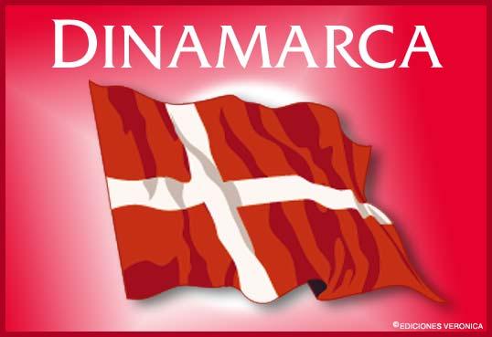 Tarjeta - Bandera de Dinamarca