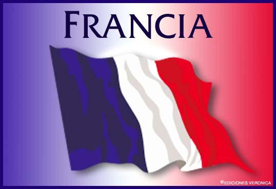 Tarjeta - Bandera de Francia