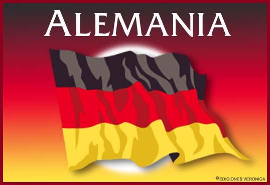 Tarjeta - Bandera de Alemania