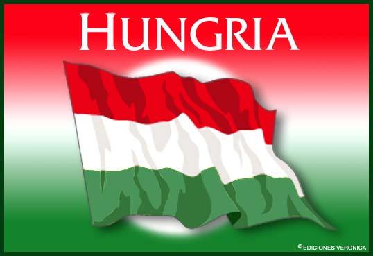 Tarjeta - Bandera de Hungría