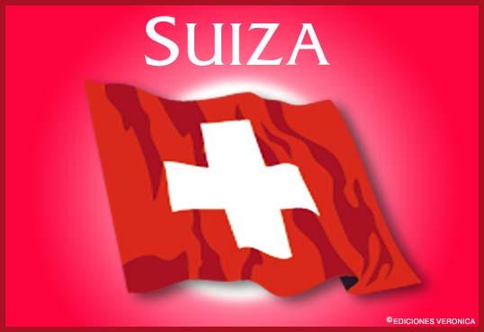 Tarjeta - Bandera de Suiza