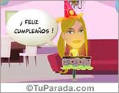 Postal de feliz cumpleaños especial
