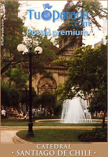 Tarjeta - Catedral - Santiago de Chile