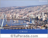 Tarjeta de Fotos de Chile