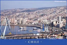 Tarjetas, postales: Fotos de Chile