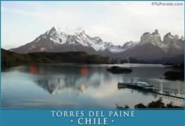 Paisaje Torres del Paine - Chile