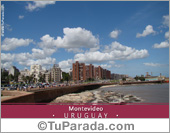 Tarjeta de Fotos de Uruguay