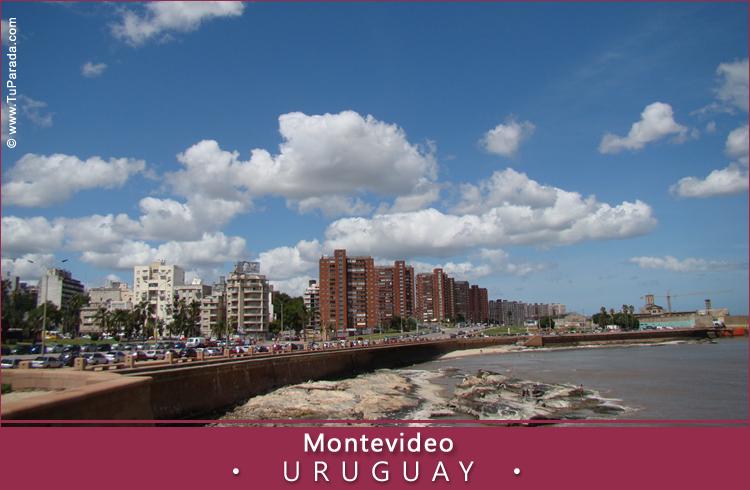 Tarjeta - Foto de Montevideo - Uruguay