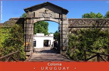 Tarjetas, postales: Fotos de Uruguay