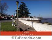 Postal de Colonia - Uruguay