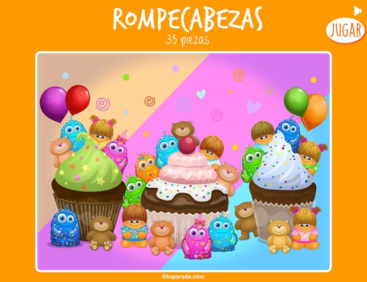 Rompecabezas - Cupcakes