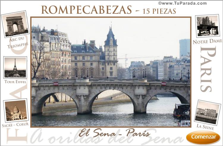 Postal de París - Rompecabezas