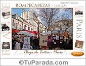 Montmartre - Rompecabezas