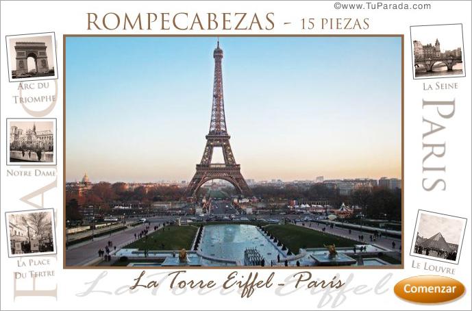 Rompecabezas - París, Torre Eiffel.