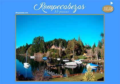 Rompecabezas - Lago del sur