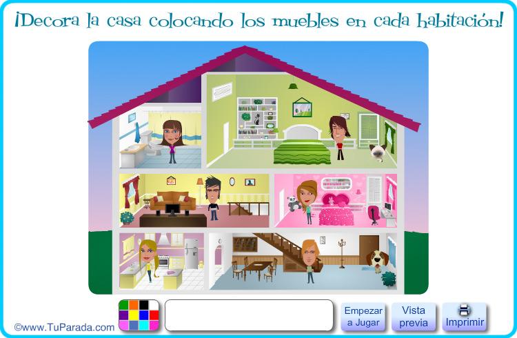 Juegos Gratis Para Decorar Habitaciones