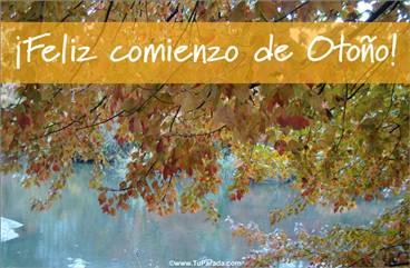 Feliz comienzo de otoño