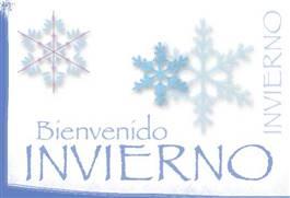 Bienvenido Invierno.