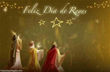 Tarjeta para el Día de Reyes