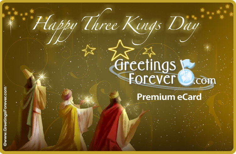 Happy Three Kings Day  Three Kings Day, ecards