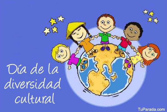 Tarjeta - Tarjeta Día de la diversidad cultural