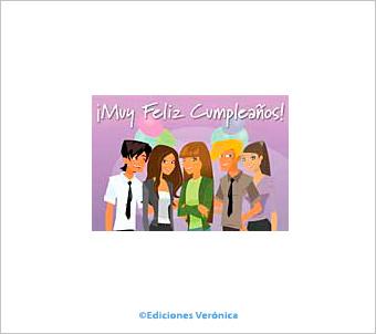 Tarjeta de cumpleaños - Comic 118A