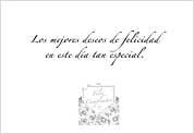 Tarjeta Sobre Arte 101A