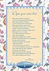 Tarjetón Poema: Deja que cambie