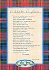 Tarjetón Poema: En el día de tu Cumpleaños