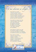 Tarjetón Poema: Si me dieran a elegir...