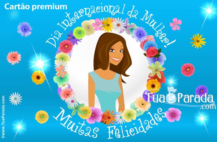 Cartão - Cartão de Dia da Mulher