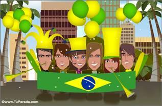 Cartão de Brasil
