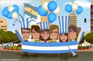 Cartão de Argentina