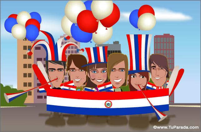 Cartão - Paraguay
