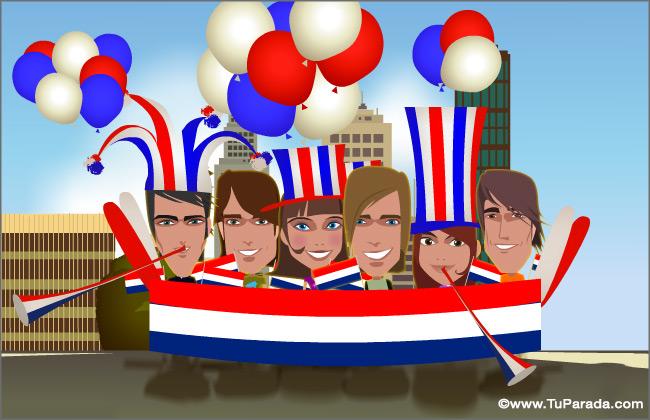 Cartão - Holanda